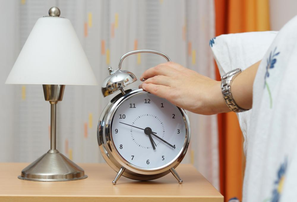 Using a mechanical alarm clock may help save money on the electricity bill.