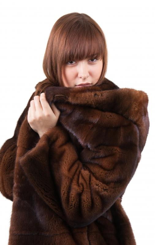Proper storage is the best way to keep a mink fur coat in good shape for years.