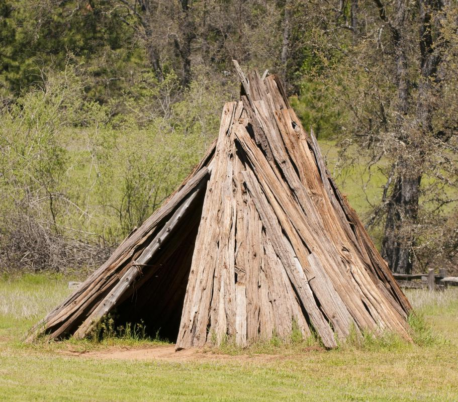 The Miwok Indians most likely lived in cedar dwellings on Angel Island.