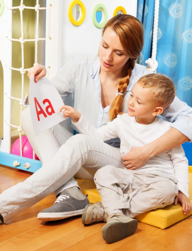Children are sometimes taught the letter sounds as soon as they begin to recognize the letter.