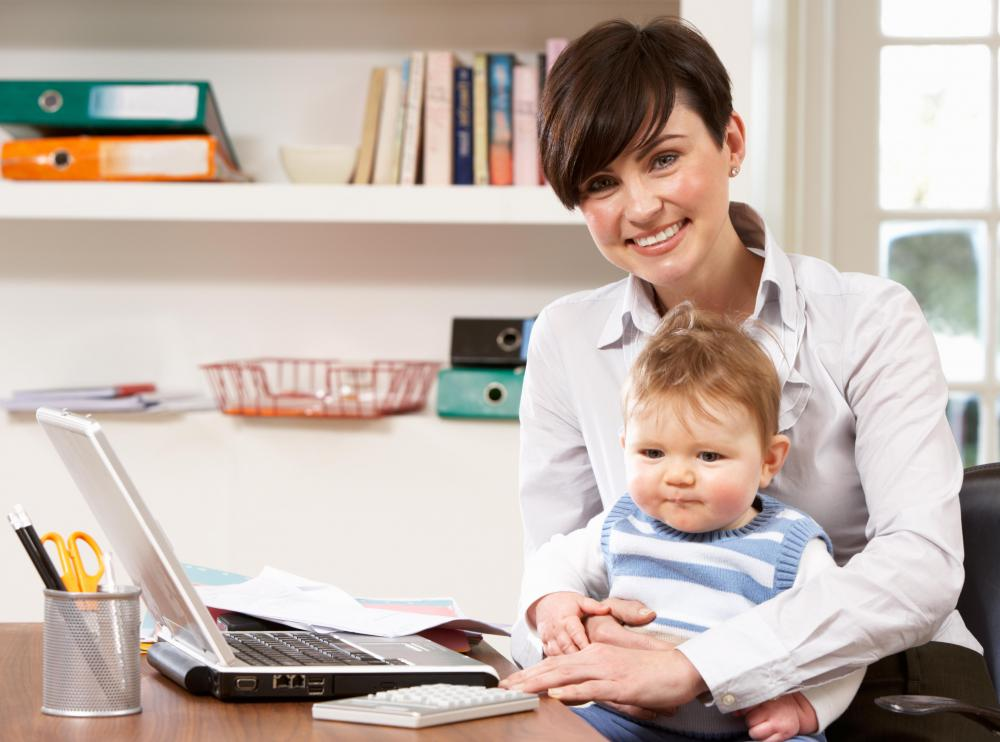 People who work from home might be easily distracted by kids.
