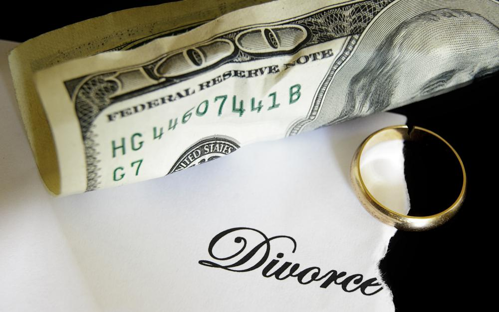 Spousal support, also known as alimony, is paid as part of a divorce.