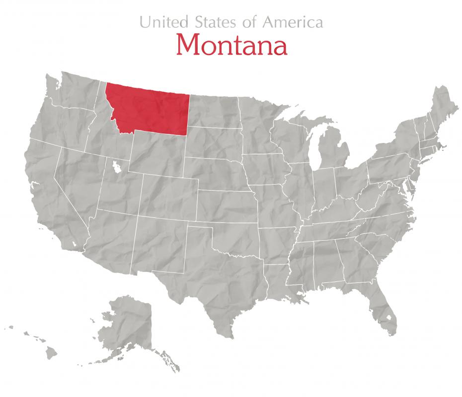 The majority of the Crow Nation are settled in south-central Montana.