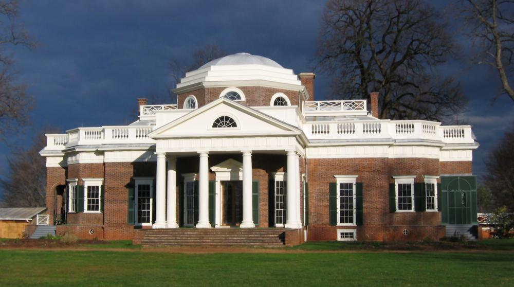 Thomas Jefferson's home, Monticello.