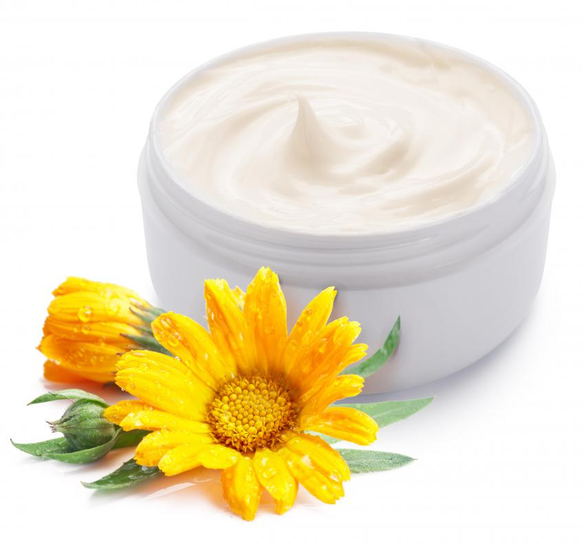 Eye creams have special moisturizers for the skin around the eyes.