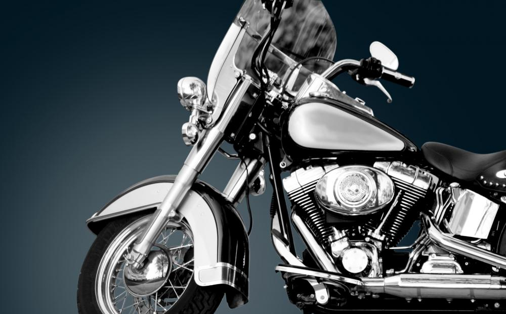 Mild steel has many applications, such as motorcycle frames.