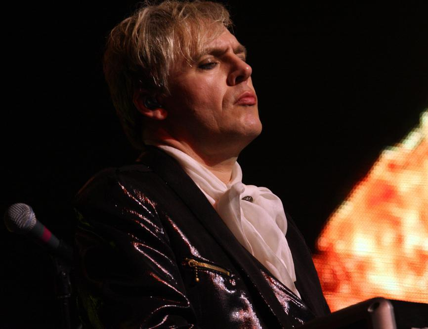 Duran Duran, which has featured the musician Nick Rhodes, is sometimes associated with punk rock.