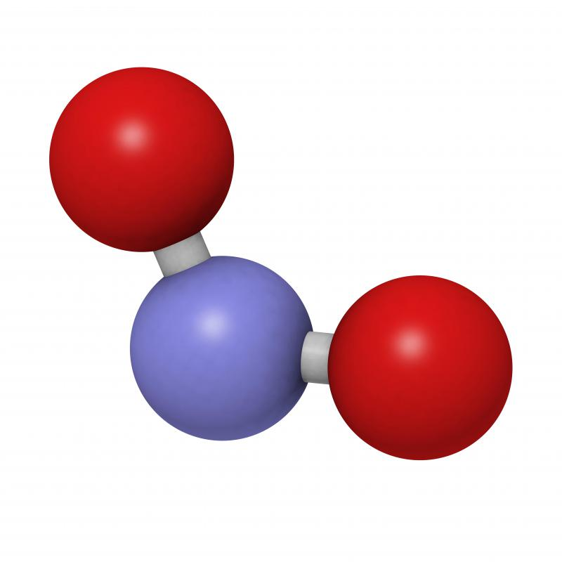 A single water molecule is made up of two hydrogen atoms and one atom of oxygen.