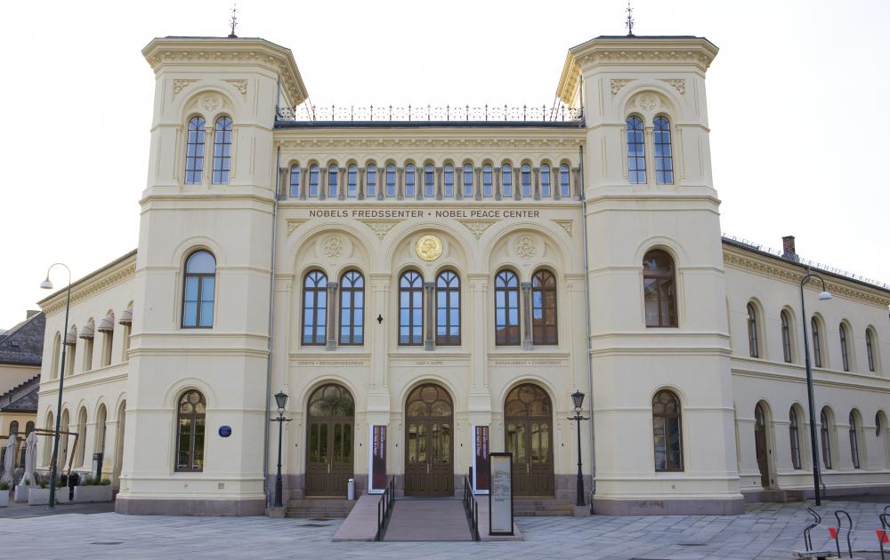 Nobel Peace Center in Oslo, Norway.