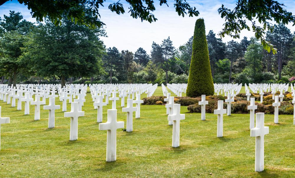 Some estimate the total casualties during the World War II Invasion of Normandy to be in the hundreds of thousands.