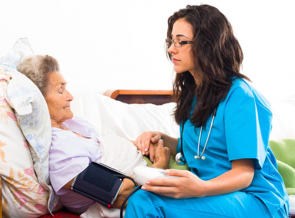 Those who live in long-term care facilities may be trained to provide palliative care.