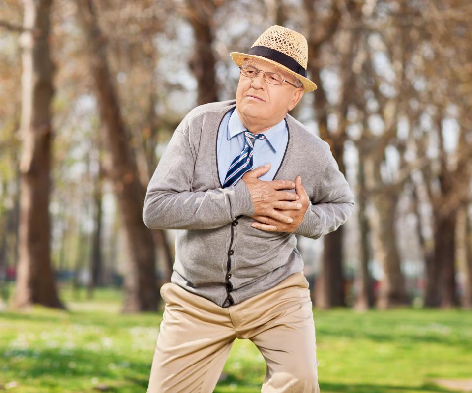 A heart attack may cause malfunctioning of the left ventricle of the heart.