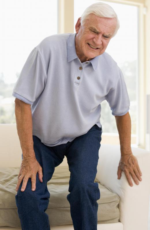 Knee nerve damage can make standing from a seated position painful or difficult.