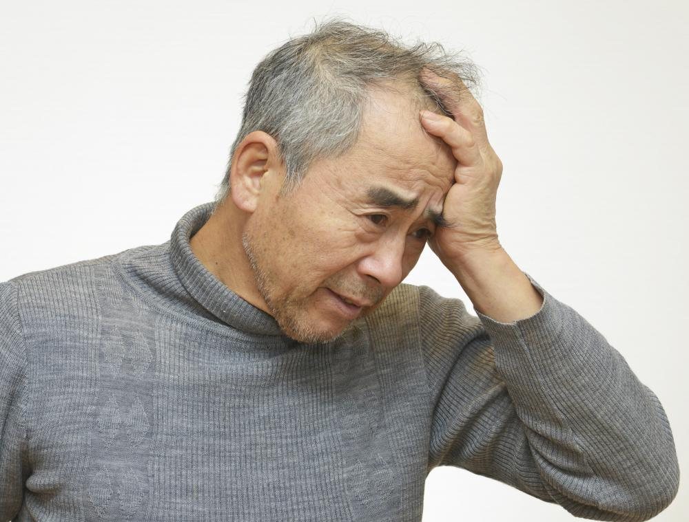 Dizziness and confusion may be symptoms of a cerebral edema.