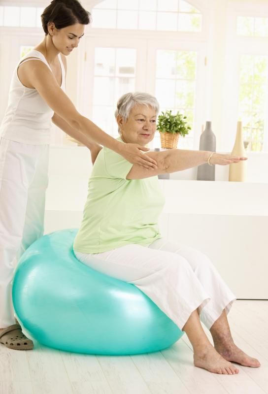 The elderly may receive help staying mobile and active through outpatient rehab.