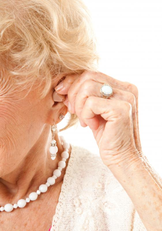 Damaged cochleas are a type of hearing disorder typically remedied with hearing aids.