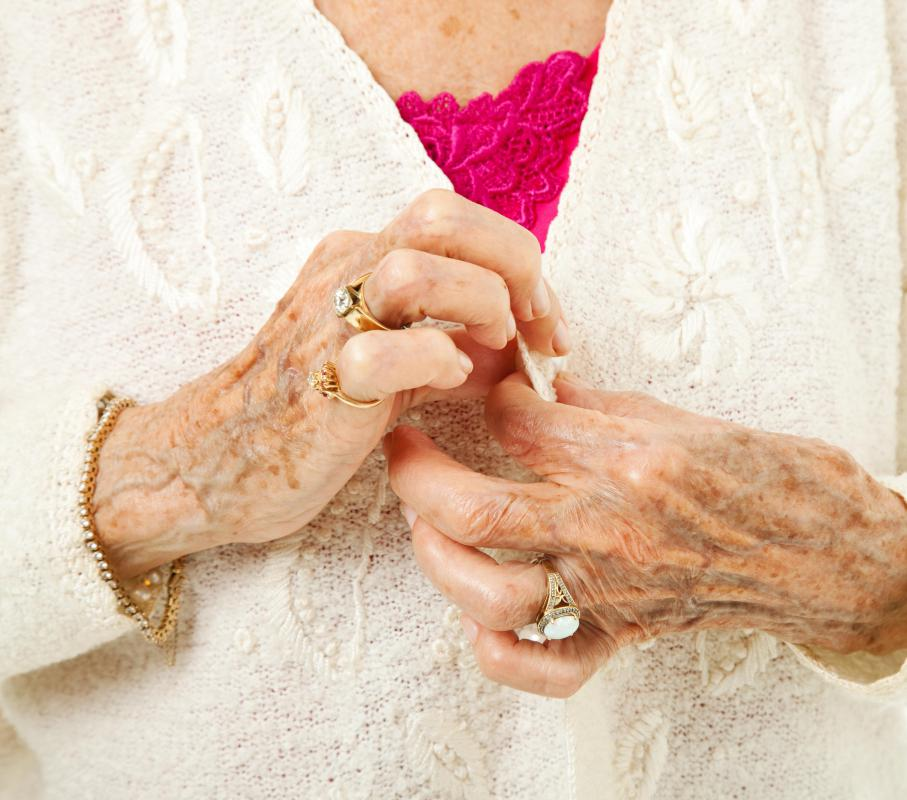 Some older adults suffer limited movement that is caused by arthritis.