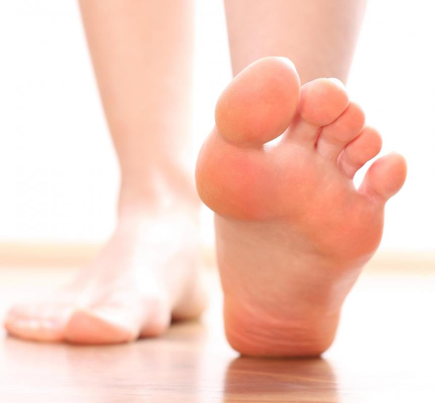 Microangiopathy is commonly found in diabetes patients, and may lead to amputation of the foot.