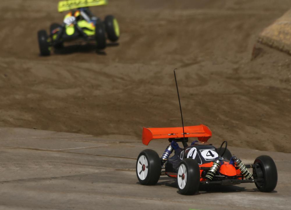 Remote control cars are a popular and inexpensive gift idea.