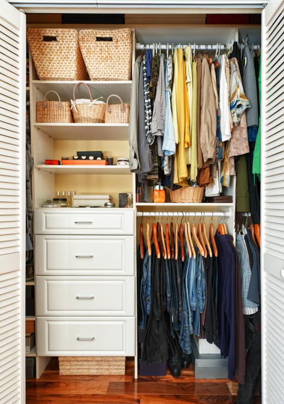 Individuals with advanced spatial-temporal reasoning may be very adept at organizing closets.
