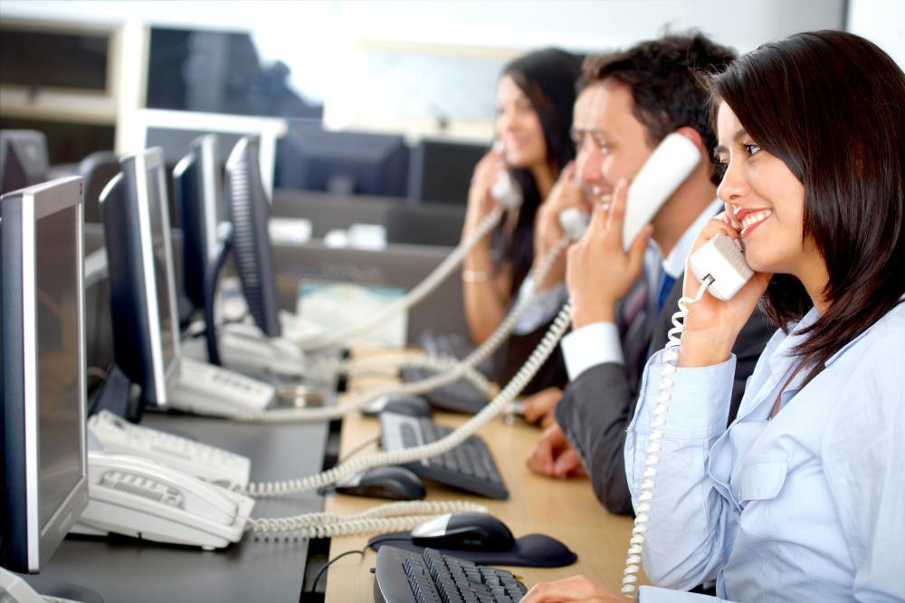 Telemarketers attempt to sell products to large segments of the population over the phone.