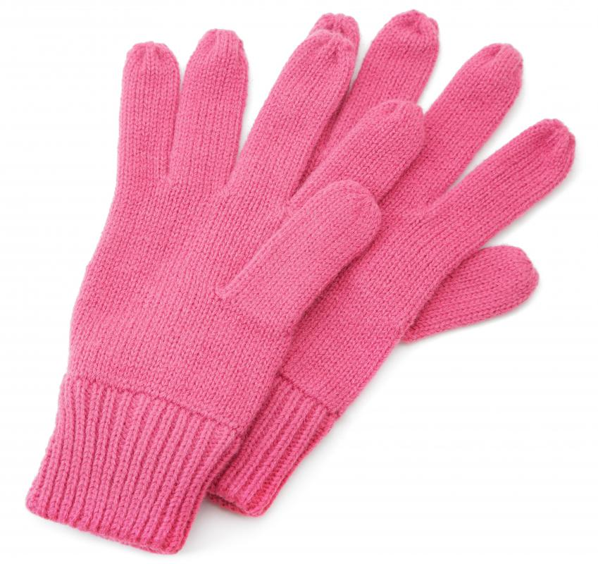 Women might appreciate a warm pair of gloves as a Christmas gift.