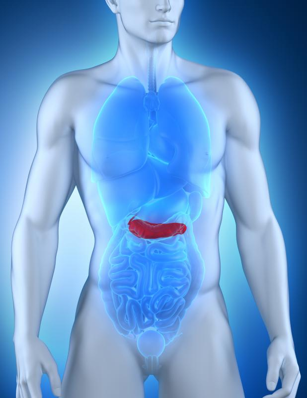 A mucinous cystadenoma in the pancreas is more common in women than men.