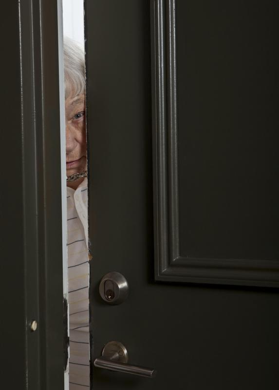 Paranoia in the elderly may be a sign of dementia.