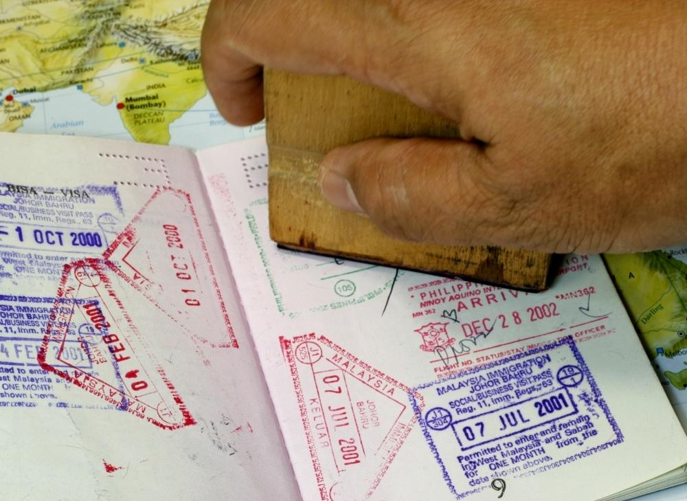 Diplomats traveling with a tourist passport as well as a diplomatic one need to get both stamped when entering and exiting a country.