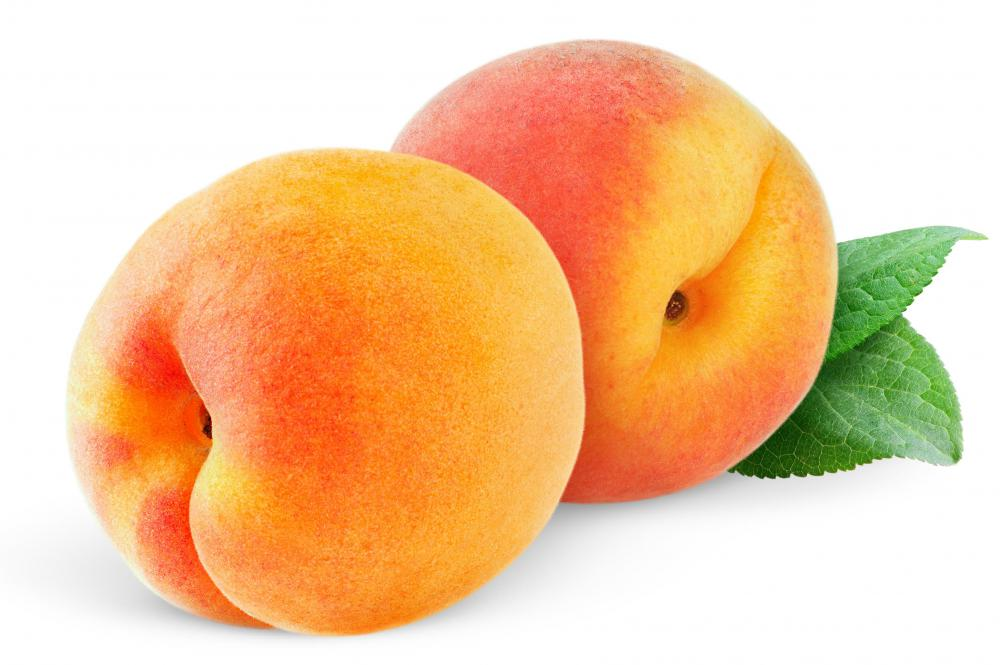 Peaches are associated with longevity in China.