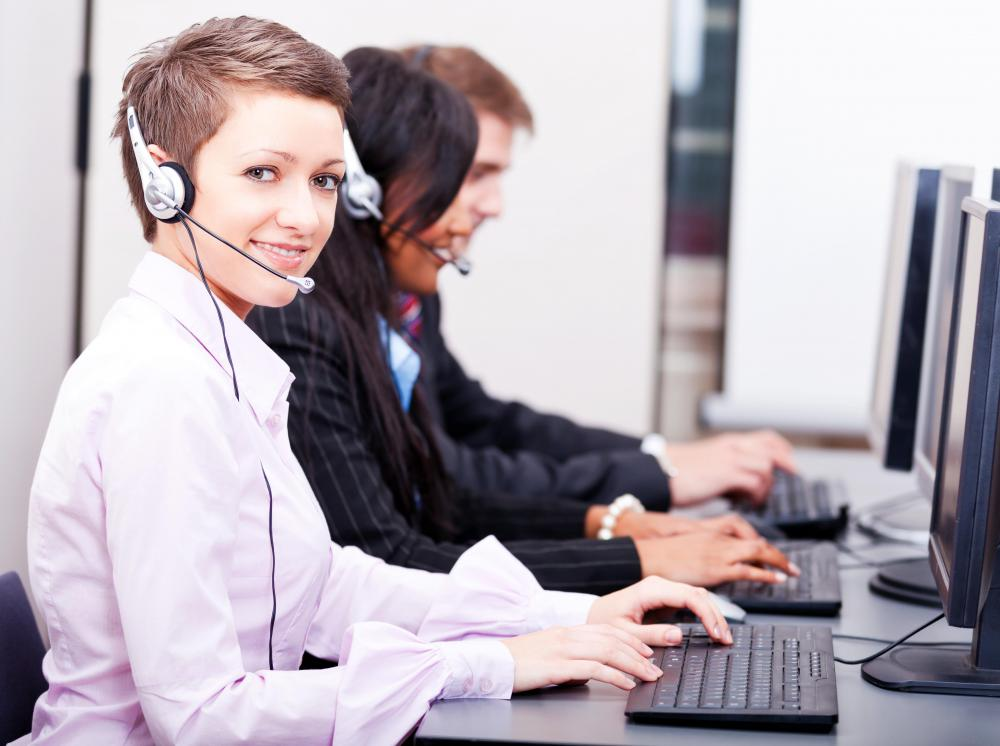 A virtual dialer is commonly used by call center agents.
