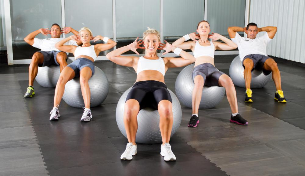 A gym may require all members to sign a disclaimer of liability before attending group exercise classes or working out.
