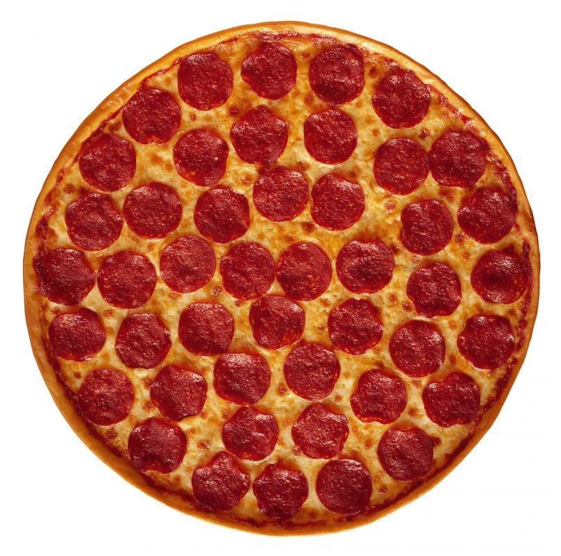 Pizza is often considered unhealthy because it is usually high in fat and calories.