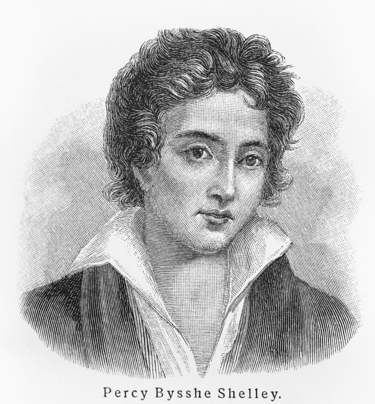 Shelley died young at the age of 30.