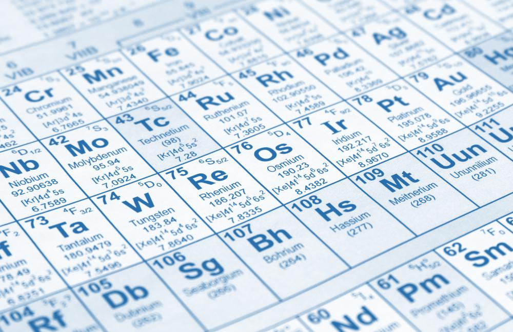 Helium has an atomic number of two and a symbol of He on the periodic table.