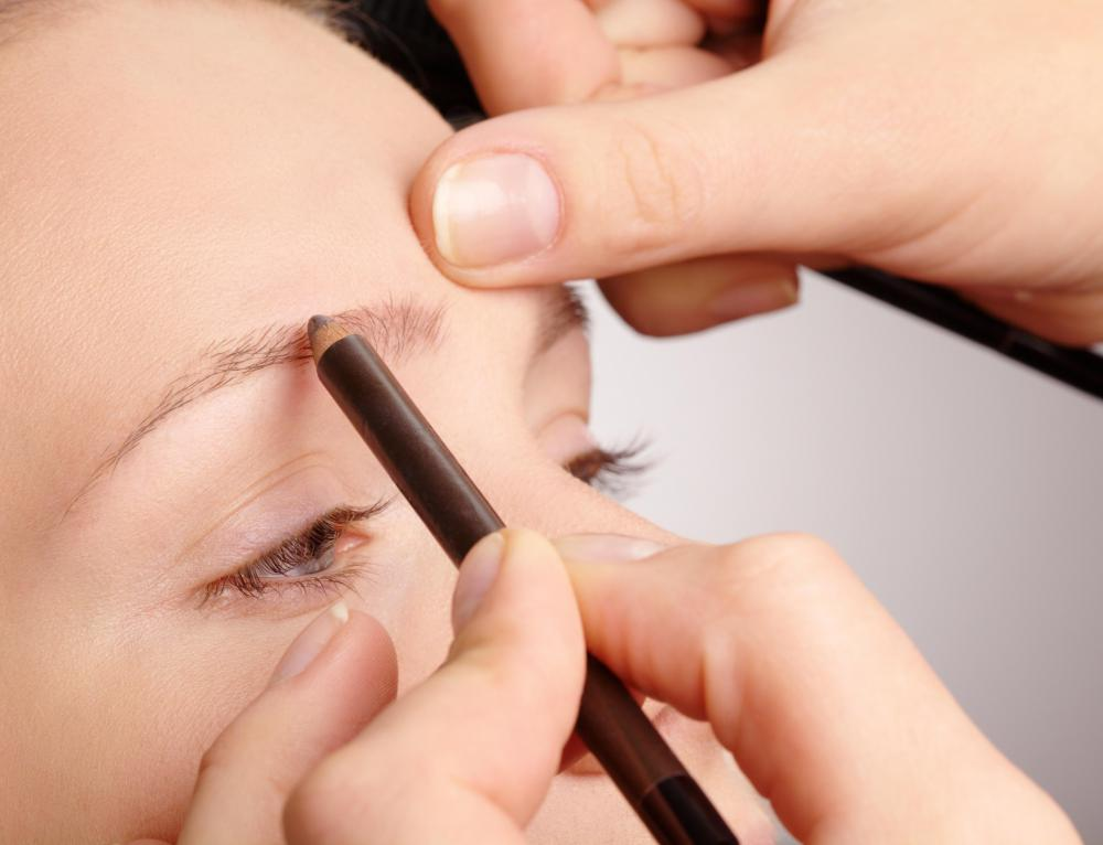 A temporary solution for patchy eyebrows is to use an eyebrow pencil to color in the gaps.