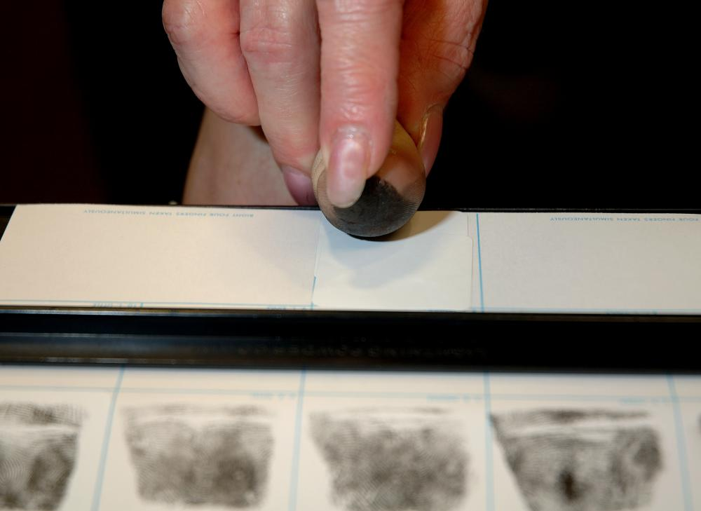 Fingerprints might be taken during an autopsy.