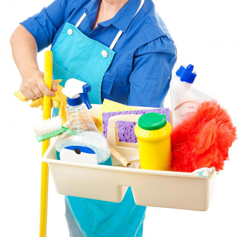 There are a number of cleaners available that are designed to disinfect household surfaces.