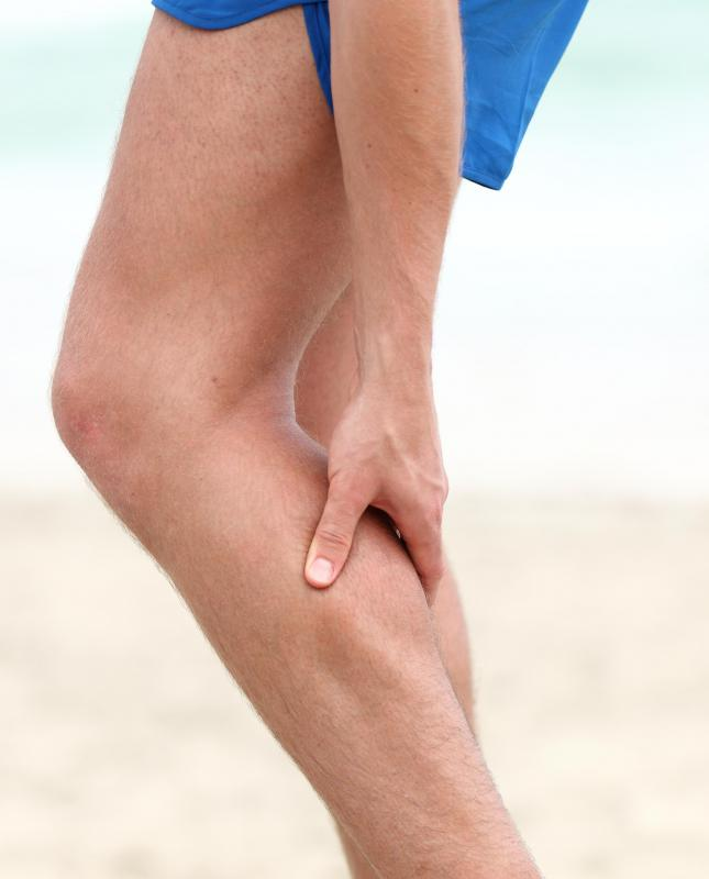 Too much activity can cause leg cramps and stiffness.