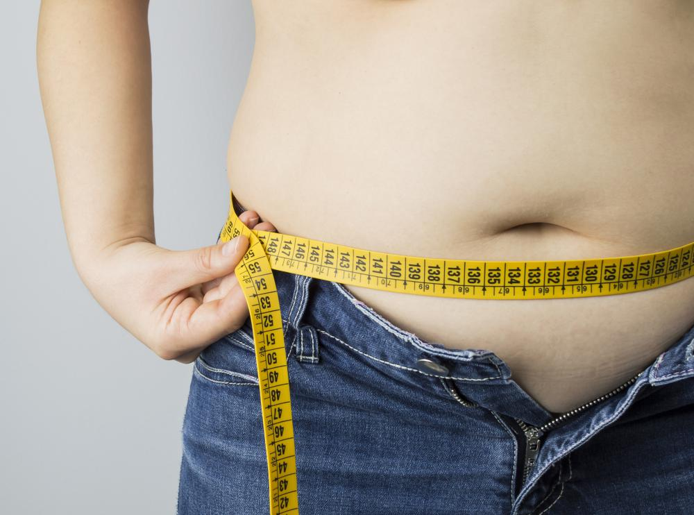 Symptoms of PCOS may include weight gain.