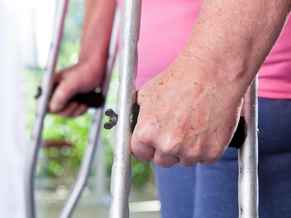 Rehabilitation centers can temporary assistance to people recovering from an injury.