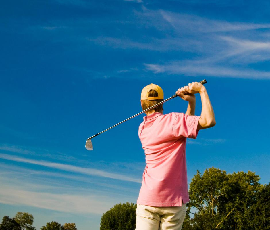 The golf industry includes golf courses, golf professionals, and golf equipment and clothing companies.