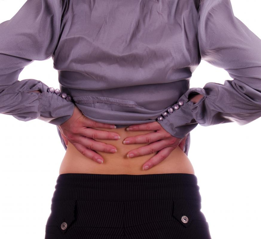 Symptoms of Bright's disease may include intense pain on either or both sides of the lower back.