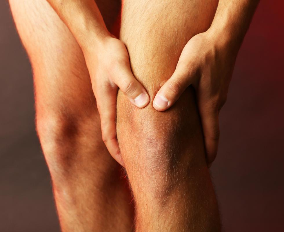 Bursae are usually located both above and below the knee cap, as well as inside and outside the knee.