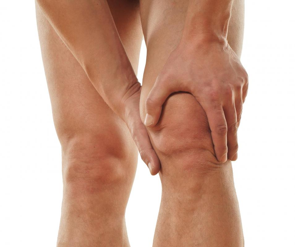 OTC painkillers can help with pain from a torn knee ligament.