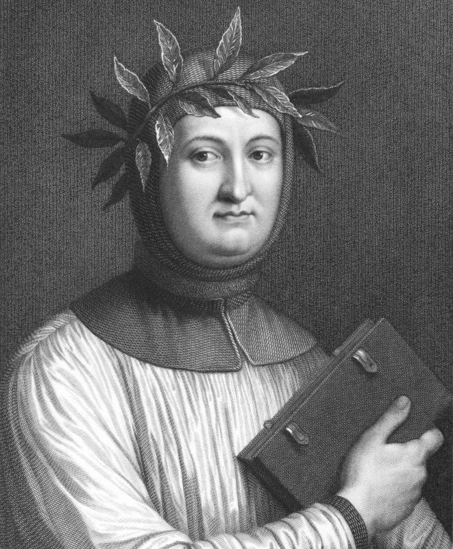 Petrarchan sonnets are named for the Italian poet Francesco Petrarca.