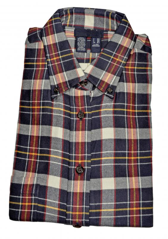 Flannel is a popular material used to make barn jackets.
