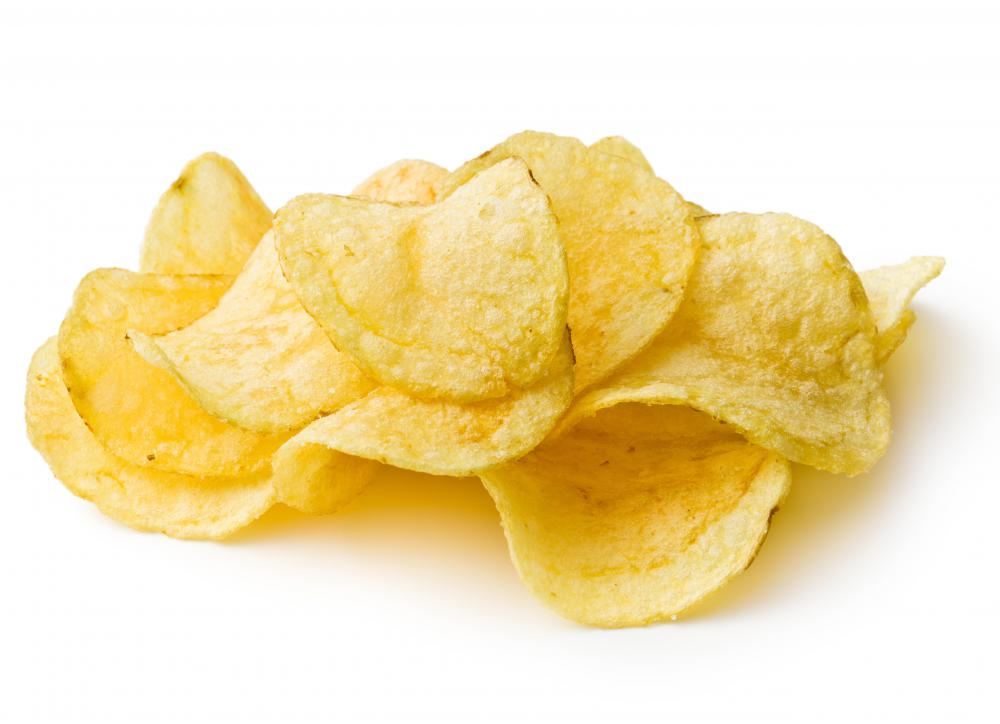 Potato chips need to be replaced in a low-sodium diet.
