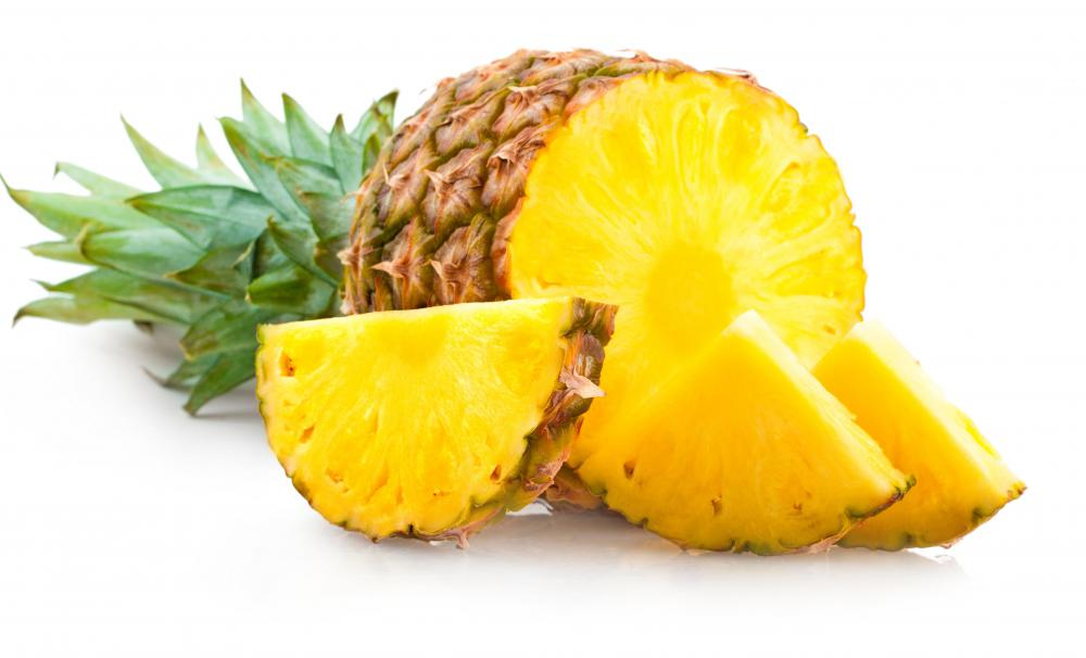 Eating pineapple can provide relief from abscess inflammation.