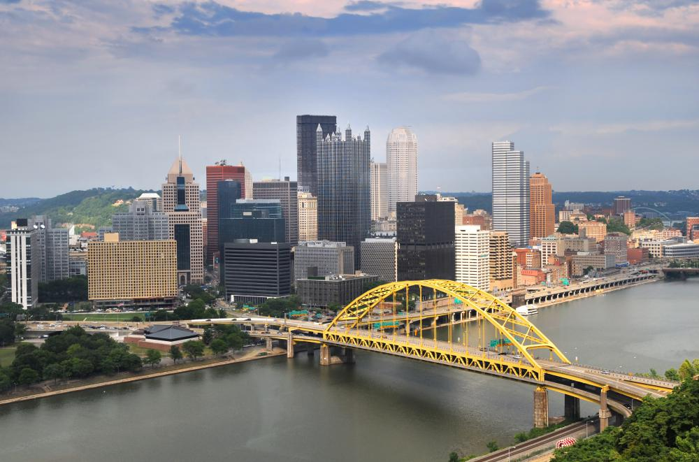 Though industrialized Pittsburgh tends to vote Democratic, the rural areas that surround it in western Pennsylvania have a developing fossil fuel based economy, which may make this area a battleground in future elections.